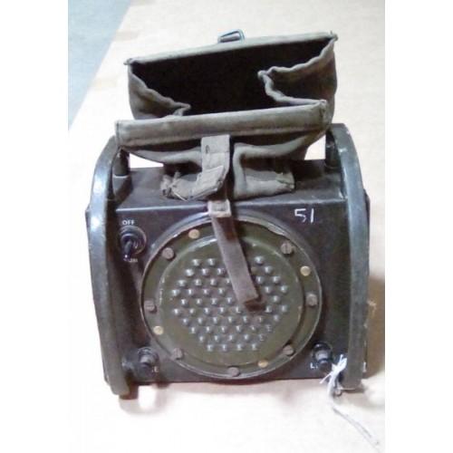Loudspeaker unit - gun control