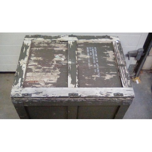ALS KIT NO1 SHIPPING AND STORAGE CRATE (WOODEN)