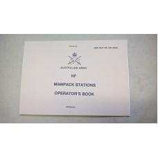 RT-F100 HF MANPACK STATIONS OPERATORS HANDBOOK