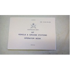 RT-F100 HF VEHICLE / GROUND STATION OPERATORS HANDBOOK