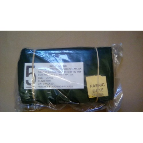TROUSERS PROTECTIVE NBC OLIVE NO1 MK3