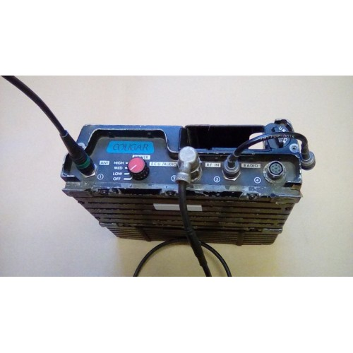 RACAL COUGAR MANPACK RADIO (LESS PRR)