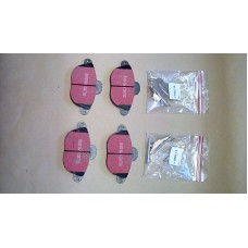 LIGHTWEIGHT TRAILER BRAKE PAD SET / KIT