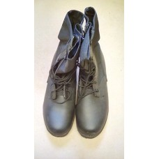 BOOTS COMBAT HIGH LEG BLACK  JUNGLE (WELLCO)  SIZE 9W