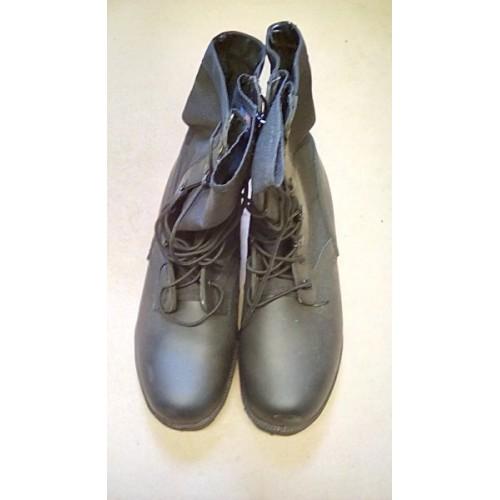 BOOTS COMBAT HIGH LEG BLACK  JUNGLE (WELLCO)  SIZE 9W