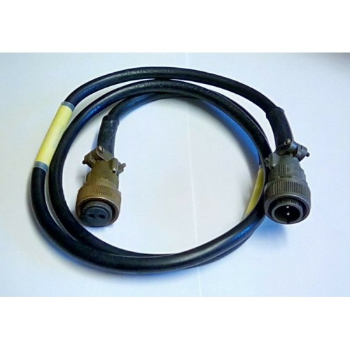 CABLE ASSY LARGE 2 PIN MALE / 2 PIN FEMALE