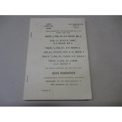SERIESII-IIA 12 VOLT HAND BOOK