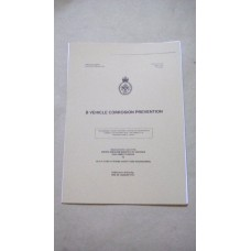 B VEHICLE CORROSION PREVENTION MANUAL
