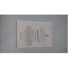 SNAKEY TRAILER TECHNICAL DESCRIPTION MANUAL (FV2361)