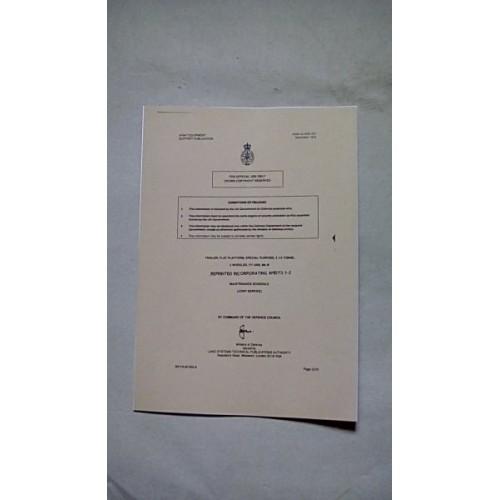 TRAILER FLAT PLATFORM FV2406 MAINTENANCE SCHEDULE (JS)