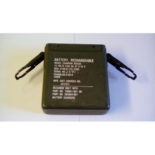 BATTERY NICAD RECHARCHEABLE 15V .80AH