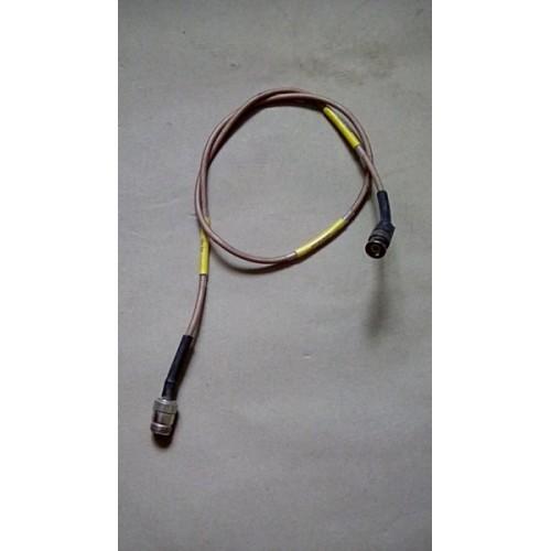 BOWMAN RADIO RF CABLE BNC / N TYPE MALE BRAD-006/X