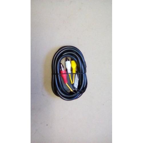 SCART Plug to 3 x RCA Phono 1.5MTR