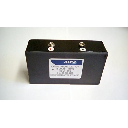 BATTERY NON RECHARGEABLE 4.5V