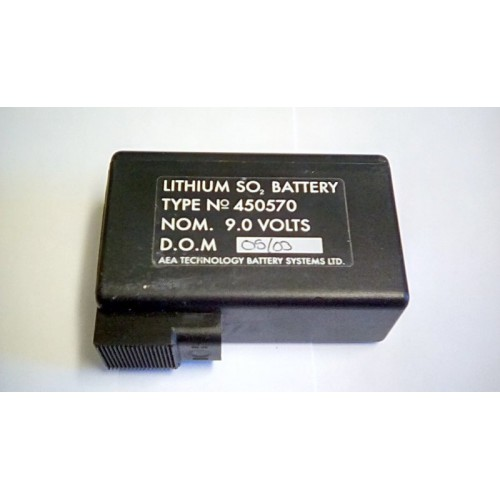 BATTERY LITHIUM SO TYPE 450570 9.0 V