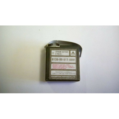 BATTERY LITHIUM 5 VOLTS
