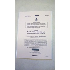 UK / PRC346 TACGA RADIO MANUAL PURPOSE AND PLANNING