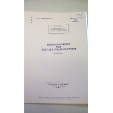 CLANSMAN USER HANDBOOK TEST SET PULSE PATTERN