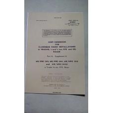 USER HANDBOOK CLANSMAN INSTALLATION PRC320 PRC344 VRC353 VRC353Z