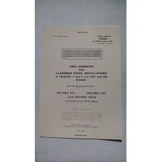 USER HANDBOOK CLANSMAN INSTALLATION VRC321 VRC353 VRC353Z
