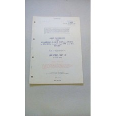 USER HANDBOOK CLANSMAN PRC351/2 IN GS ROVER