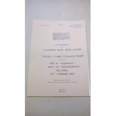 CLANSMAN USER HANDBOOK MULTI SET / COMBINING BOX 101 FC