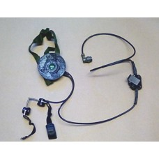 CLANSMAN HEADSET AND THROAT MIC ASSY