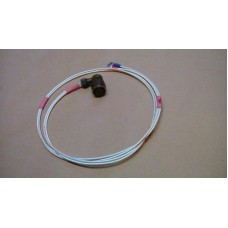 CLANSMAN 2 PIN POWER CABLE FEMALE SOCKET AND LEAD