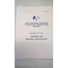 LAND COMPONENT HANDBOOK CLANSMAN UK/VRC322