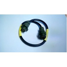 RACAL AUDIO EXTENSION CABLE 7PM / 7PF BULKHEAD