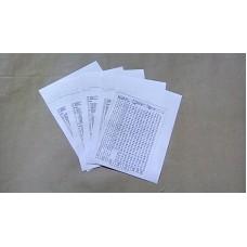 BATCO VOCABULARY CARD SET 1-12