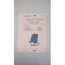 CLANSMAN, UK/PRC351, UK/PRC352, TECHNICAL HANDBOOK, DATA SUMMARY INDEX