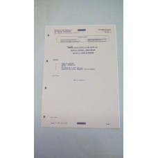 CLANSMAN, UK/PRC351, UK/PRC352, TECHNICAL HANDBOOK, F/R, INDEX TO SECTIONS.