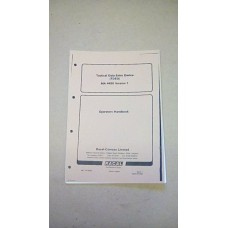 RACAL TACTICAL DATA ENTRY DEVICE MA4450 USER HANDBOOK